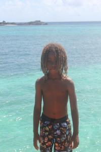 Eshawn- David's son (look at those dreads) aww