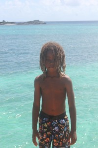 Eshawn- David's son (look at those dreads) aww