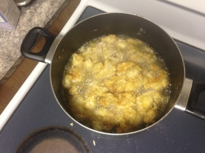 frying it up