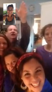 nothing as good as facetiming the fam