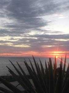 beautiful South Caicos sunset
